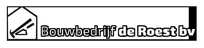 Logo Bouwbedrijf de Roest