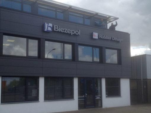 Verbouwing bedrijfsgebouw Biezepol Metaalbewerking BV