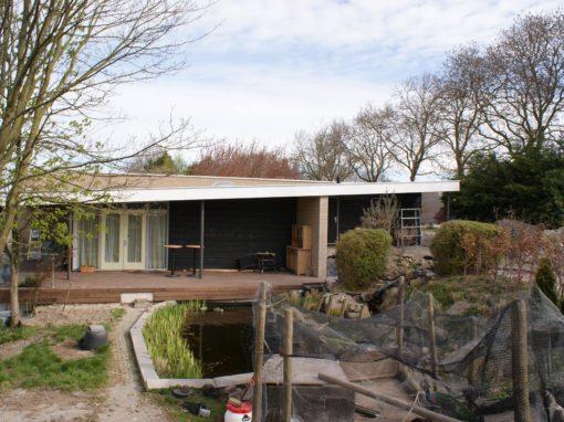 Muziekruimte/tuinhuis te Mijnsheerenland
