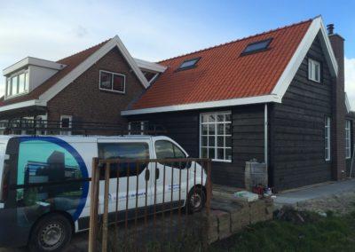 Vrijstaande woning Langeweg te Heerjandam