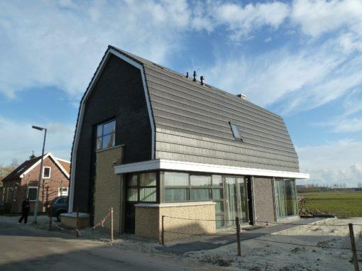 Twee vrijstaande woningen Zevenbergse Dijkje te Rotterdam